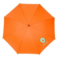 Automatinis skėtis,  su putplasčio rankena